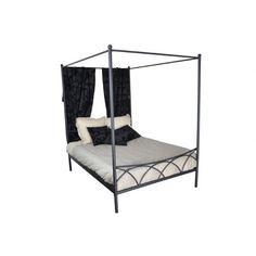 Baldaquin en 160x200cm - Noir - 170 x : en vente sur RueDuCommerce