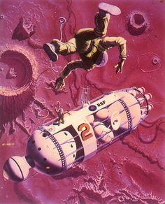 Mel Hunter / 70s Sci-Fi Art