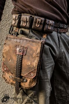 Millitary handmade bag