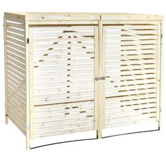 Keep your garden neat and tidy and your wheelie bins out of sight, with this wooden double wheelie bin storage unit. Buy Now with Free Mainland UK delivery.