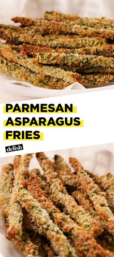 You Will Be Addicted To These Parmesan Asparagus Fries Delish