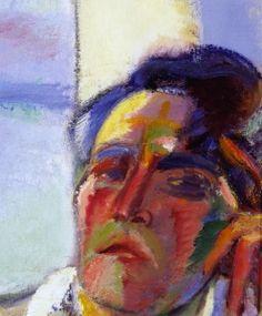 #ÖDÖN_MÁRFFY    *   Self-Portrait. Modern Art Paintings, Watercolor Tattoo, Portrait, Painters, Google Search, Fall Living Room, Art Studios, Expressionism, Exhibitions