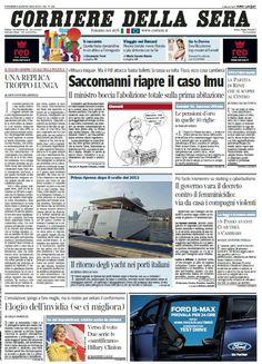 Il Corriere della Sera (09-08-13) Italian | True PDF | 44 pages | 13,36 Mb