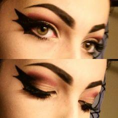 Bat makeup for halloween :) : MakeupAddiction