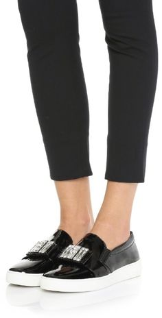 MICHAEL Michael Kors Michelle Slip On Sneakers | SHOPBOP SAVE UP TO 25% Use Code:GOBIG15