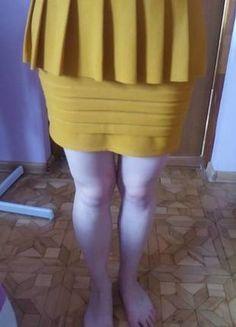 Spódnica z zakładkami
