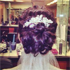 #Bridal #Hair #wedding #updo