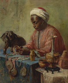 The Jewelry Maker, Gyula Tornai