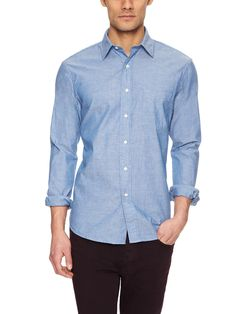 Chambray Sport Shirt by Nick Point at Gilt