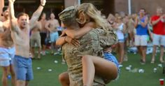 WATCH: Soldiers Coming Home To Girlfriends