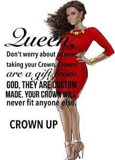 Black Girl Quotes, Black Women Quotes, Black Girl Art, Black Women Art, Black Art, Art Women, Boss Lady Quotes, Woman Quotes, Crown Quotes