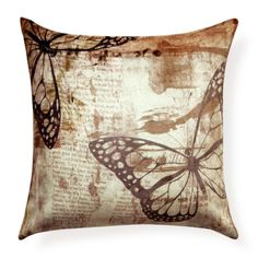 Housefull Butterfly Theme Cushion Cover - FabFurnish.com#DiwaliDecor #FabFurnish
