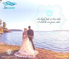 #celebrate #beach #wedding #sand #sea #breeze #couple #life #forever #tide