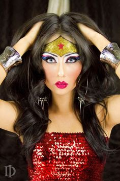 1000+ Ideas About Superhero Makeup On Pinterest | Batman Makeup Comic Makeup And Catwoman Makeup
