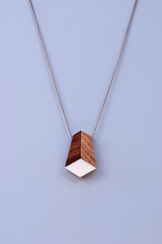 light box necklace, by timber line jewelry