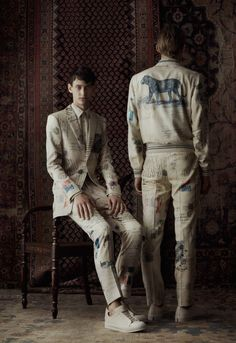 Throughout the month of March, Alexander McQueen is releasing varying themes on differing dates.
