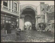 Edirnekapı, İstanbul. 1800'ler. Eski İstanbul Fotoğrafları; https://t.line.do/2dk/BT-istanbul