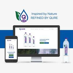 Welcome to our new and improved QURE website. With a fresh look and feel and a new intuitive design, our new website is designed with you in mind, to enhance your QURE experience. Let Them Talk, Intuition, Mindfulness, Fresh, Website, Feelings, Water, Design, Water Water