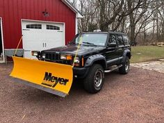 eBay: 1998 Jeep Cherokee Sport 1998 Jeep Cherokee Sport - lifted with Meyer plow #jeep #jeeplife