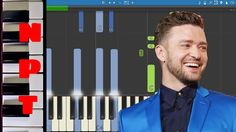 Justin Timberlake - Can't Stop The Feeling - Piano Tutorial Dreamworks T...