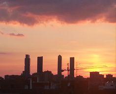 atardeceres de Madrid #meEncantaMadrid