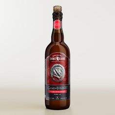 One of my favorite discoveries at WorldMarket.com: Game of Thrones Valar Morghulis Dubbel Ale