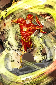 Variant Cover for THE FLASH #8