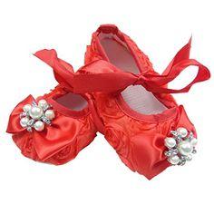 Süße 3D Baby Ballerina in weiß, rosa oder rot Gr. 16,17,18,19 (16) (17, rot) - http://on-line-kaufen.de/trendydress/17-eu-suesse-3d-baby-ballerina-in-weiss-rosa-oder-gr