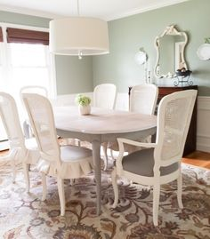 Dining Room Reveal French Provinicial Dining Set Makeover