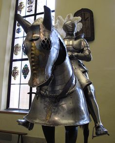 Early 16th Century Armor for Horse and Knight, Philadelphia Museum of Art