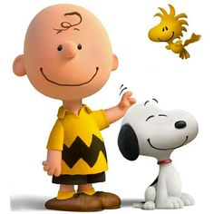 Peanuts Charlie Brown, Snoopy and Woodstock