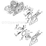 Stihl MS 291 Chainsaw Parts Diagram, Chain Brake Chainsaw Parts, Diagram, Band, Ms, Stuff To Buy, Bands, Orchestra