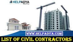 Post Classified For List of Civil Contractors  Looking for List of Civil Contractors In Delhi, India you've reached the right place. With the help of classified sites you can promote your new brand easily. Help Adya is a free online platform where you can place your free ads including wide range of categories such as Carpentry Contractors, Electricity Contractor and much more. To know more about Post Free Ads site in India visit www.helpadya.com or call at 8527198118.