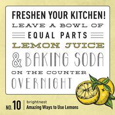 Power to the Lemon: 10 Amazing Household Uses.