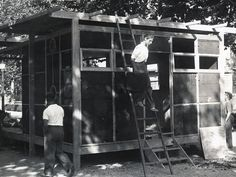 LA CASETA DESMONTABLE, 1929-1935 | GATCPAC (Grupo este del GATEPAC). Grup d'Arquitectes i Tècnics Catalans per al Progrés de l'Arquitectura Contemporània.