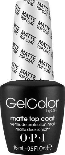 Name: Matte Top Coat Item#: GC031 Size/Weight: 15 mL - 0.5 Fl. Oz.
