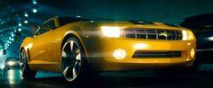 Chevrolet Camaro in Transformers - Revenge of the Fallen (2009) Movie Scene