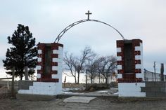 Wounded Knee grave site