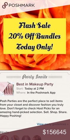 💄 TODAY ONLY FOR BEST IN MAKEUP PARTY 💄 💄TODAY ONLY FOR THE BEST IN MAKEUP PARTY HAPPENING MY BUNDLE RATE IS RAISED ! STOCK UP ON ALL YOUR GOODIES ! I SHIP SAME DAY & NEXT DAY OF AFTER 4 PM . STARTING SALE EARLY BEFORE THE PARTY 🎉 PRICES ARE FIRM UNLESS BUNDLED 🎉NO OFFERS ON BUNDLES AS MY BUNDLE RATE IS APPLIED AND HIGHER ! Sephora Makeup Lipstick