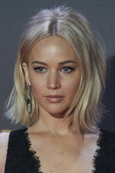Hair style file: Jennifer Lawrence - Vogue Australia More