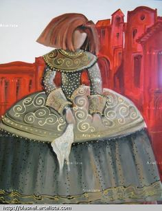 Cuadros Meninas Modernas News Fotos Videos Pic #16 Infanta Margarita, Collages, Easy Canvas Painting, Different Art Styles, Ceramic Figures, American Art, Creative Art, Art History, Pop Art