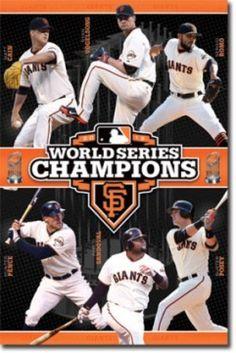 San Francisco Giants World Series Poster Print (24 X 36) - Item # SCO5979 - Posterazzi
