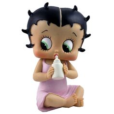 betty boop baby - baby betty boop holding her bottle  is this cute or creepy?