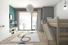 Modern nursery/kids room by BAGUA Pracownia Architektury Wnętrz
