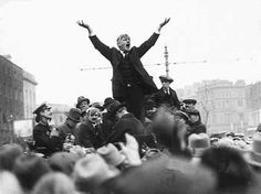 Dublin Lockout 1913: Union Strikes in Ireland James Larkin and Connolly.  James Larkin delivering a speech in Dublin 1913 Dublin Lockout   http://viking305.hubpages.com/hub/irish-history-of-employment-conflict-and-the-Dublin-1913-Lockout-strike-in-Ireland