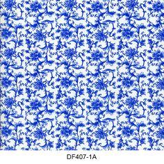 Hydro printing film flower pattern DF407-1A