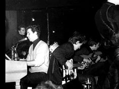 The Beatles on the stage (at the Top Ten Club Hamburg 1961) - The Beatles In Hamburge, Germany Photo (30758243) - Fanpop