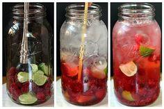 Verfrissend water met een smaakje