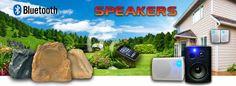 Rock Speakers, Wireless Outdoor Speakers, Bluetooth Speakers, Indoor Outdoor, Catalog, Patio, Free Shipping, Brochures, Inside Outside
