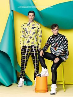 'MASTERS OF ABSTRACTION': MIKKEL JENSEN Y DEMY MATZEN PARA GQ STYLE RUSSIA FALL/WINTER 2014